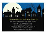 Halloween Movie Party Invitations Scary Movie Halloween Party 3 5×5 Paper Invitation Card
