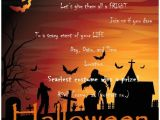 Halloween Party Invite Template Free Halloween Party Invitation Templates Free – Festival