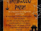 Halloween Party Invite Template Free Halloween Party Invitation Wording