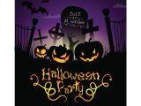 Halloween Party Invite Template Halloween Party Invitation Templates – Gangcraft