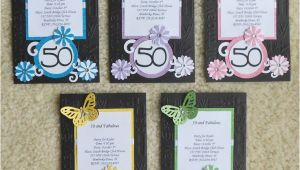 Handmade 50th Birthday Invitation Ideas Handmade Birthday Invitations Handmade Invites