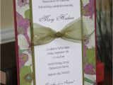 Handmade 50th Birthday Invitations 27 Best Images About Anniversary Invitations On Pinterest