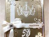 Handmade 50th Birthday Invitations Bespoke Luxury Handmade 50th Birthday Card