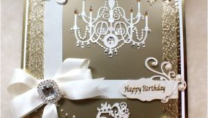 Handmade 50th Birthday Invitations Bespoke Luxury Handmade 50th Birthday Card