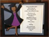 Handmade Graduation Invitations Handmade Custom Graduation Invitation or Announcement