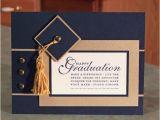 Handmade Graduation Invitations Handmade Stampin Up Happy Grad Cap and Tassel Graduation