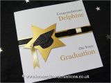 Handmade Graduation Invitations Star Achievement Handmade Graduation Card
