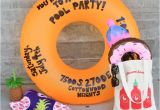 Handmade Pool Party Invitation Ideas Diy Pool Party Float Invitation Let S Mingle Blog