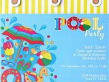 Handmade Pool Party Invitation Ideas Pool Party Ideas & Kids Summer Printables