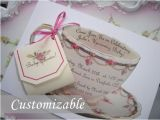 Handmade Tea Party Invitation Ideas Teacup Invitation High Tea Invitation Tea Party