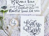 Handwritten Bridal Shower Invitations Handwritten Invites Wedding Party Ideas 100 Layer Cake