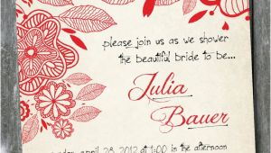 Handwritten Bridal Shower Invitations Items Similar to Handwritten Floral Vintage Custom Shower