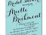 Handwritten Bridal Shower Invitations Items Similar to Modern Script Bridal Shower Invitation