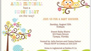 Happi Tree Baby Shower Invitations Happi Tree Baby Shower Invitation – the Invite Lady
