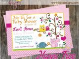 Happi Tree Baby Shower Invitations Happi Tree forest Baby Shower Invitation Digital Download or