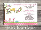 Happi Tree Baby Shower Invitations Happi Tree Owl Personalized Baby Shower Invitation Includes