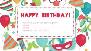 Happy Birthday Invitation Template 83 Birthday Invitations Word Psd Ai Eps Free