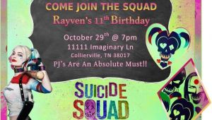 Harley Quinn Birthday Party Invitations 36 Best Images About Suicide Squad On Pinterest Joker