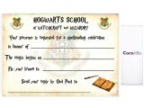Harry Potter Birthday Invitations Printable Free Harry Potter Ticket Invitation Template Bagvania Free