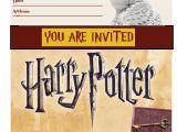 Harry Potter Birthday Invitations Printable Free Mais De 1000 Ideias sobre Harry Potter Invitations No