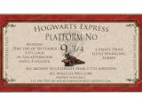 Harry Potter Birthday Invites Free Printables Hogwarts Harry Potter Printable Invitation by Catsmeowddesigns