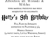 Harry Potter Birthday Invites Free Printables Tattered and Inked Harry Potter Party Free Printables and