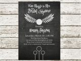 Harry Potter Bridal Shower Invitations Harry Potter Bridal Shower Wedding by Sweetteaandacactus