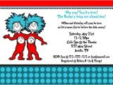 Hat and Wig Party Invitations Free Printable Thing 1 and Thing 2 Birthday Party