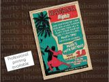Havana Nights Party Invitation Printable 5×7 Havana Nights Cuban Invitation Corporate