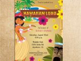 Hawaii Party Invitations Hawaiian Luau Party Invitation Stationery by