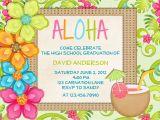 Hawaii theme Party Invites Luau Birthday Invitation Sweet 16 Tropical Hawaiian Hula