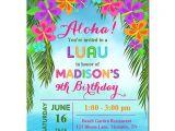 Hawaii theme Party Invites Luau Invitacion Imprimible O Impreso Con El Por