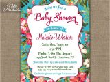 Hawaiian Bridal Shower Invitations Templates Tropical Hawaiian Baby Shower Invitations Luau Nifty
