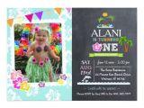 Hawaiian First Birthday Invitations 17 Best Ideas About Luau Birthday Invitations On Pinterest