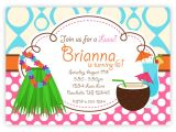 Hawaiian Party Invites Free Party Invitations Awesome Hawaiian Party Invitations