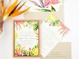 Hawaiian theme Wedding Invitations the Most Fun Tropical Wedding theme You 39 Ve Ever Seen