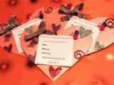 Heart Shaped Birthday Invitations Diy Heart Shaped Invitations Homecreationseveryday