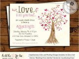 Heart themed Bridal Shower Invitations Bridal Shower Invitation Wedding Shower Invite