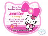 Hello Kitty 2nd Birthday Invitation Wording 36 Best Images About Hello Kitty Party On Pinterest