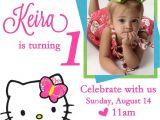 Hello Kitty 2nd Birthday Invitation Wording Free Personalized Hello Kitty Birthday Invitations