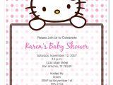 Hello Kitty Baby Shower Invitations Free Baby Shower Invitations Cute Hello Kitty Baby Shower