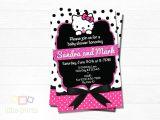 Hello Kitty Baby Shower Invitations Free Hello Kitty Baby Shower Invites