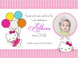 Hello Kitty Baptismal Invitation Layout Create Hello Kitty Birthday Invitations Ideas — Anouk