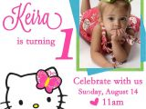 Hello Kitty Baptismal Invitation Layout Free Personalized Hello Kitty Birthday Invitations