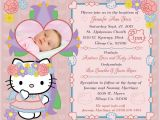 Hello Kitty Baptismal Invitation Layout Hello Kitty Baptism Invitation My Cousin S Future God