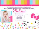 Hello Kitty Baptismal Invitation Layout Hello Kitty Birthday Invitation – Bagvania Free Printable