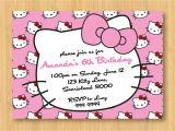 Hello Kitty Baptismal Invitation Layout Hello Kitty Birthday Invitations Printable Free