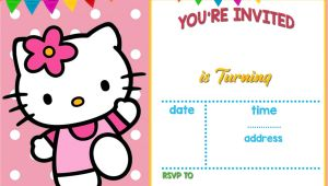 Hello Kitty Birthday Invitation Template Free Download Free Hello Kitty Invitation Templates Hello Kitty