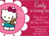 Hello Kitty First Birthday Party Invitations Hello Kitty Birthday Party Invitations Ideas Bagvania