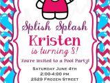 Hello Kitty Pool Party Invitations Hello Kitty Pool Party Birthday Invitation by Rachel A